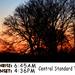 Sunset, Week 50
