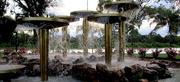 14th Dec 2017 - Wonderful Fountain along the River Murray at Loxton.  Sth.  Australia