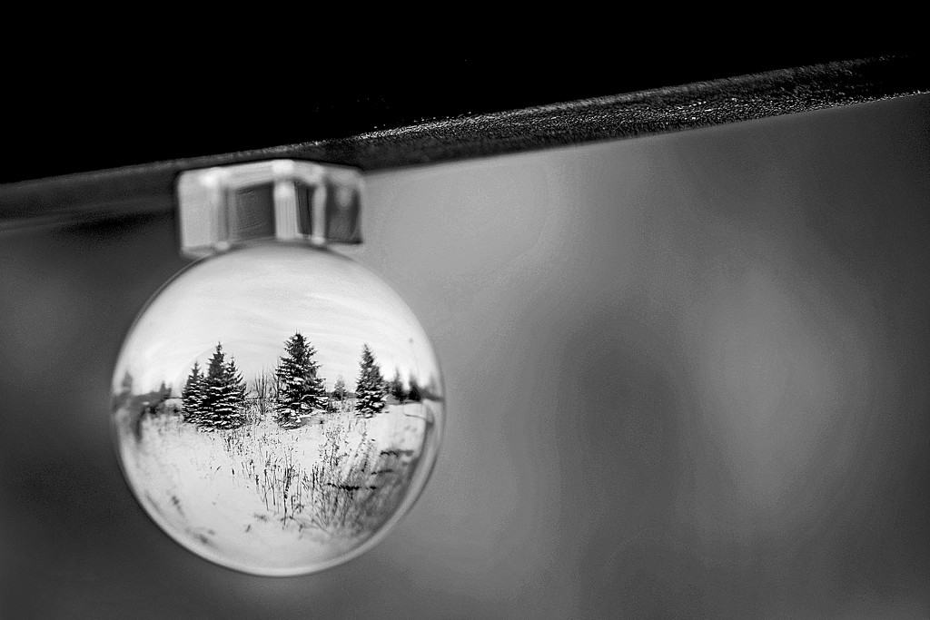 Crystal Ball Ornament! by fayefaye