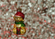 14th Dec 2017 - Christmas Teddy Bauble