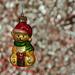 Christmas Teddy Bauble