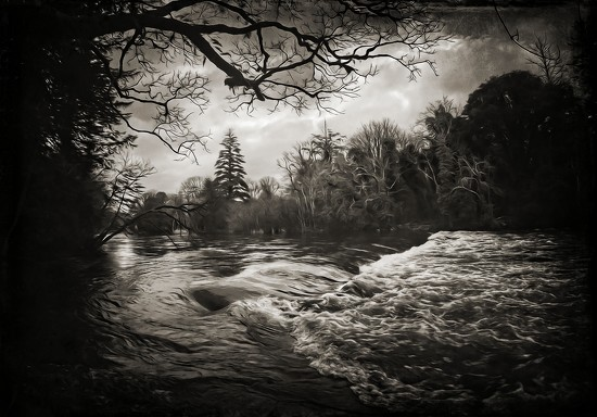 the water was deep, cold and wide by jack4john