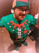 15th Dec 2017 - Day 90:  Santa's Little Elf