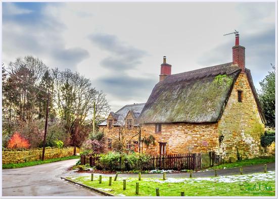 Winter In The Village by carolmw