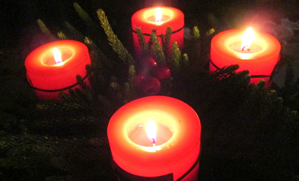 My Advent wreath. by 777margo