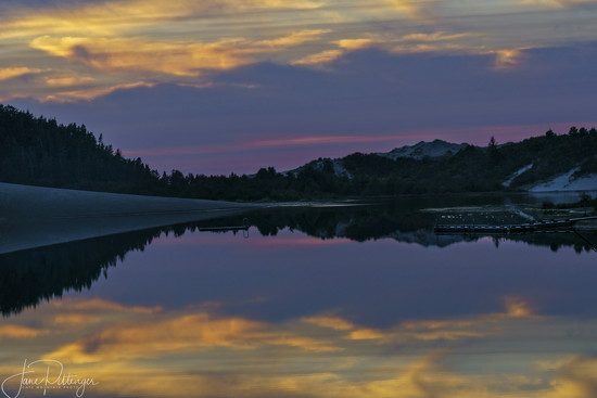 Sunset At Cleowax by jgpittenger