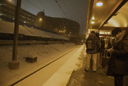 15th Dec 2017 - Waiting for the train in the snow