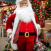 Jolly Santa by mittens
