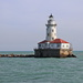 Chicago Harbour Lighthouse by terryliv