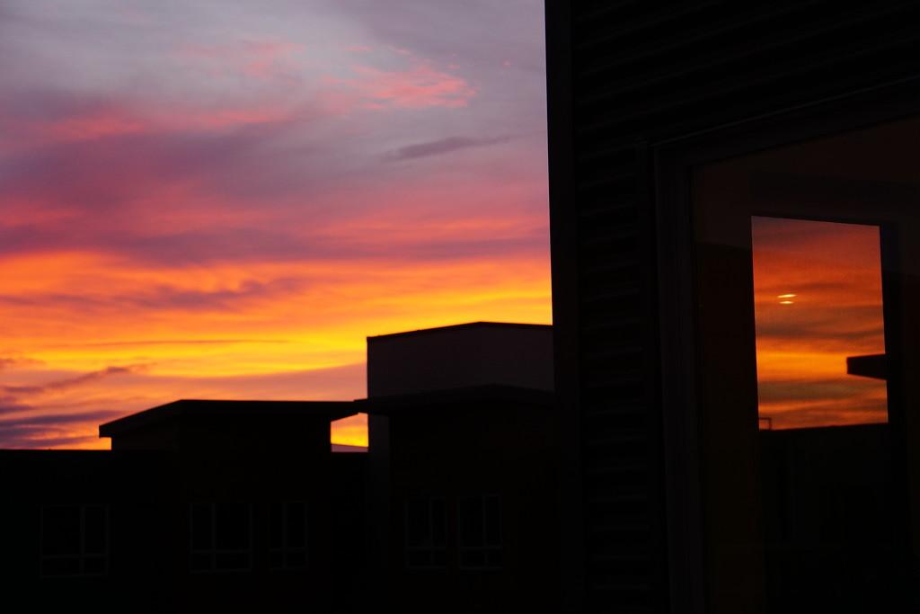 Sunset Framed by granagringa