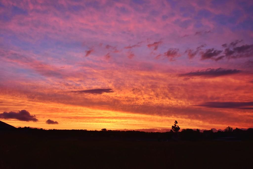 Glorious Sunset by nickspicsnz