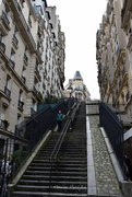 15th Dec 2017 - Montmartre stairs #1