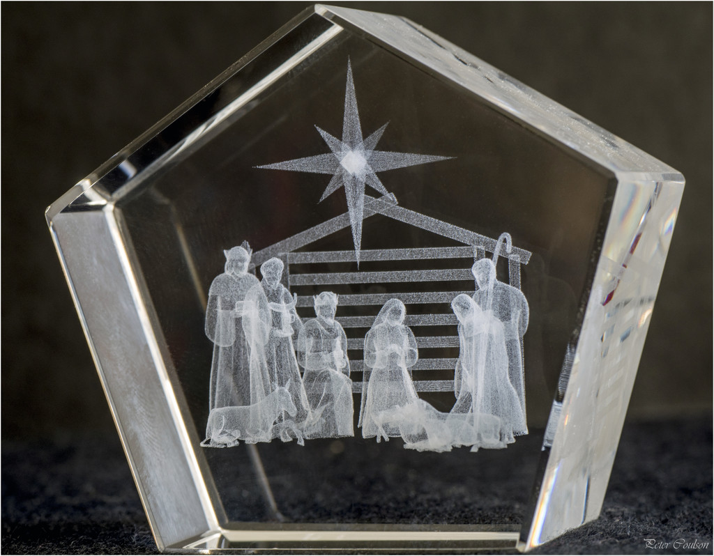 3D Nativity Scene by pcoulson