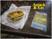 19th Dec 2017 - Meat pie and scratchy ticket