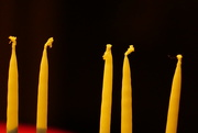 18th Dec 2017 - Chanukah Candles - waiting to be lit