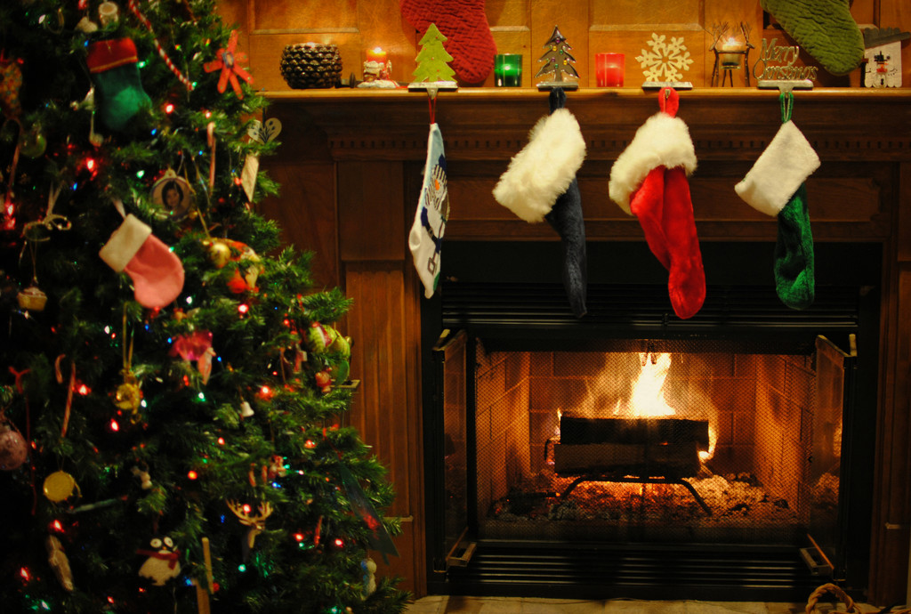 The Stockings Were Hung By the Chimney with Care by alophoto