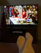 20th Dec 2017 - Watching holiday shows on TV