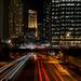 Light Trails on Lake Shore Drive - Andie Walk #2 by taffy
