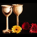 Goblets and Gerberas by fbailey