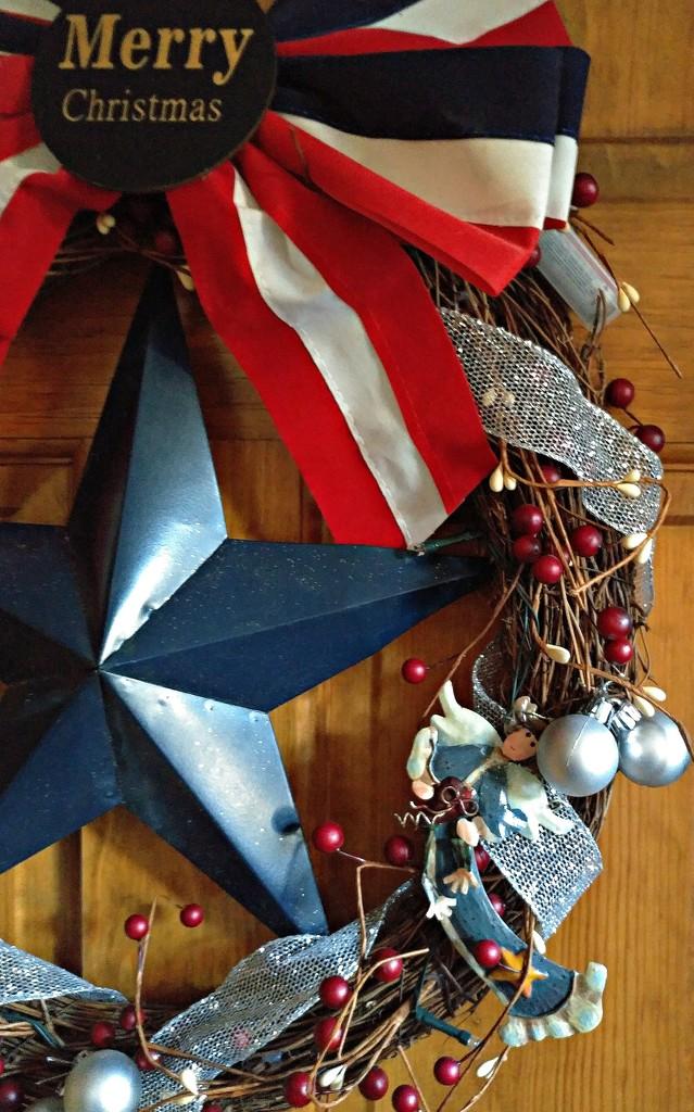 Patriotic Wreath  by jo38