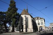14th Dec 2020 - 75 Wasserkirche - Limmatquai, Zurich