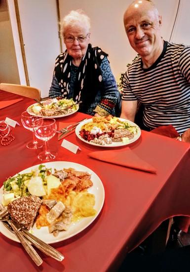 Finnish church Christmas dinner by boxplayer