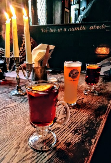 Mulled cider at the Mayflower by boxplayer