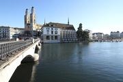 15th Dec 2020 - 76 Grossmunster, Wasserkirche and Munsterbrucke - Zurich