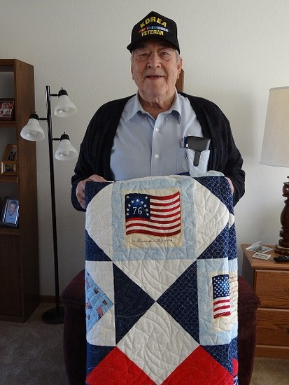 Quilt of Valor by dawnie