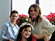 25th Dec 2017 - Mason, Krista and Natalie