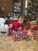 26th Dec 2017 - Henry and the Christmas Presents