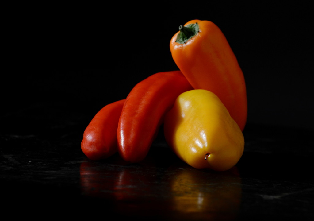 Peppers by francoise
