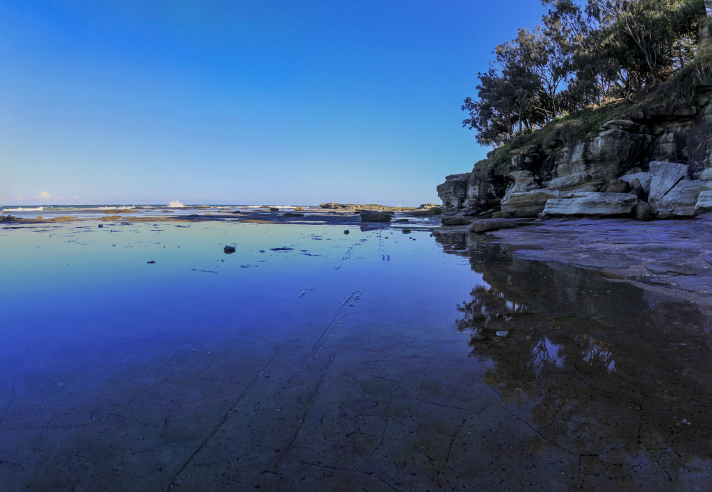 Shelly Beach photomerge by corymbia