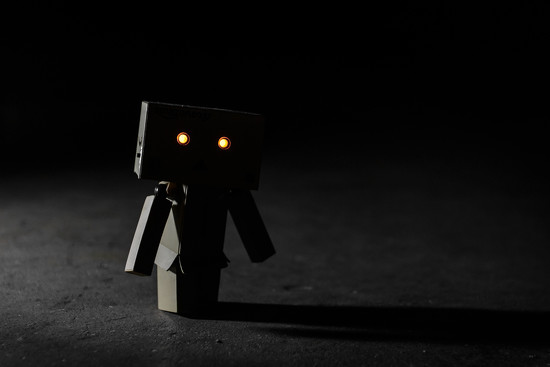 Danbo in the Dark by batfish