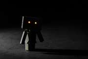 27th Dec 2017 - Danbo in the Dark