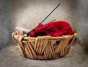 26th Dec 2017 - Knitting Basket