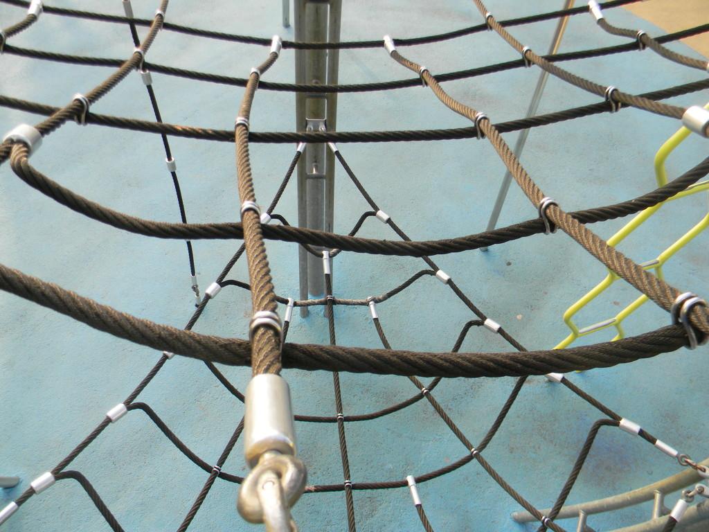 Net at Playground by sfeldphotos