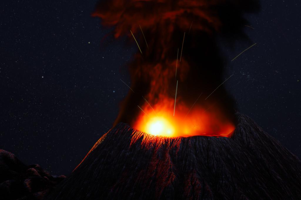 Volcano by humphreyhippo