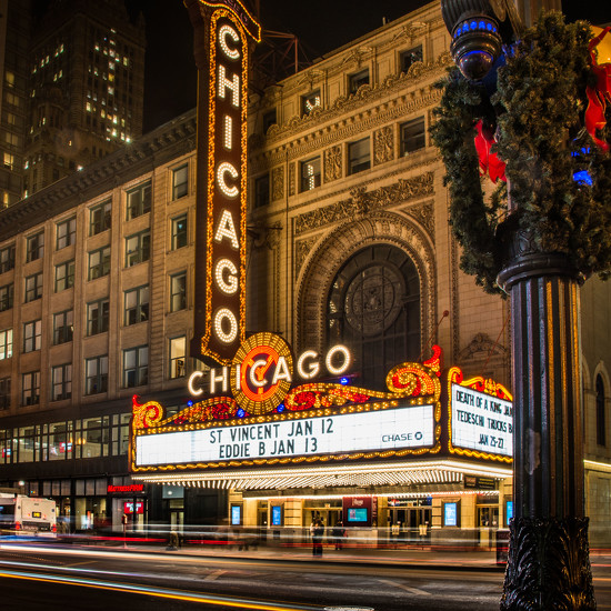 Stop #7 - Chicago Theater by taffy