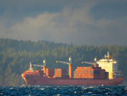 28th Dec 2017 - Container Ship On Puget Sound
