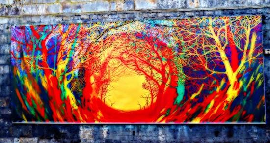 Mural by ajisaac