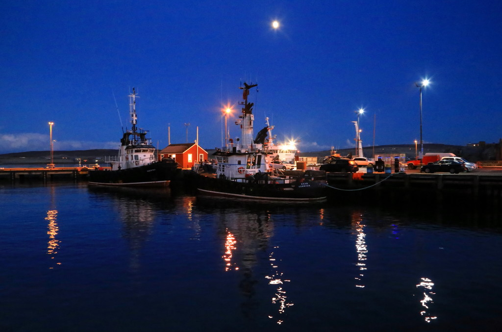 Tugs On Station  by lifeat60degrees