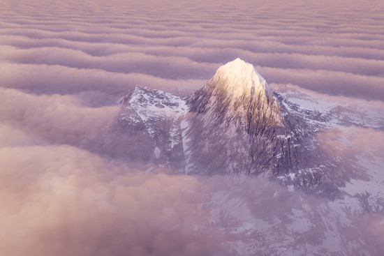 Cloud Mountain by humphreyhippo