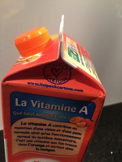 Hidden heart with vitamin A.  by cocobella