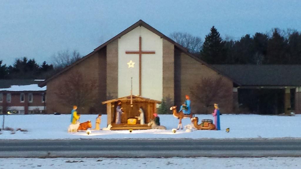 Roadside Nativity by caitnessa