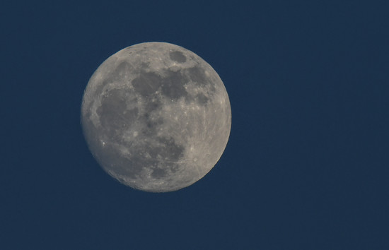 New Year's Eve Moon by kareenking