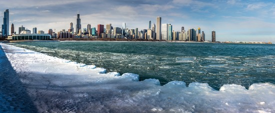 A Cold Day in Chicago by taffy