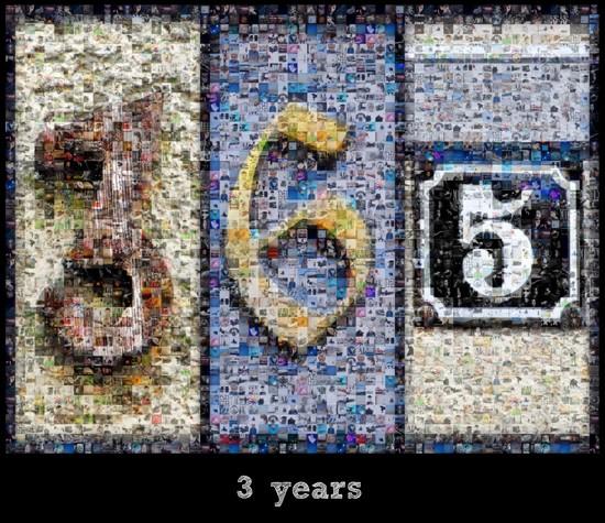 3 years!!!  by vera365