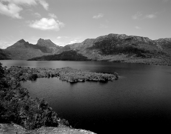 Cradle Mountain and Dove Lake  by peterdegraaff
