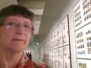 31st Dec 2017 - Selfie at the Gerhard Richter exhibition, GOMA